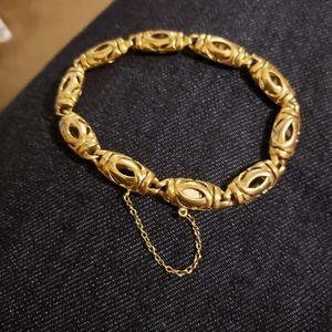 18kt cartier bracelet